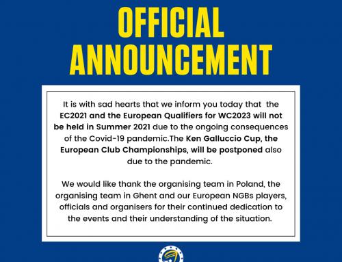 Mistrzostwa Europy odwołane