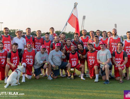 Polska reprezentacja lacrosse ze złotym medalem turnieju European Men's Lacrosse Challenge 2021